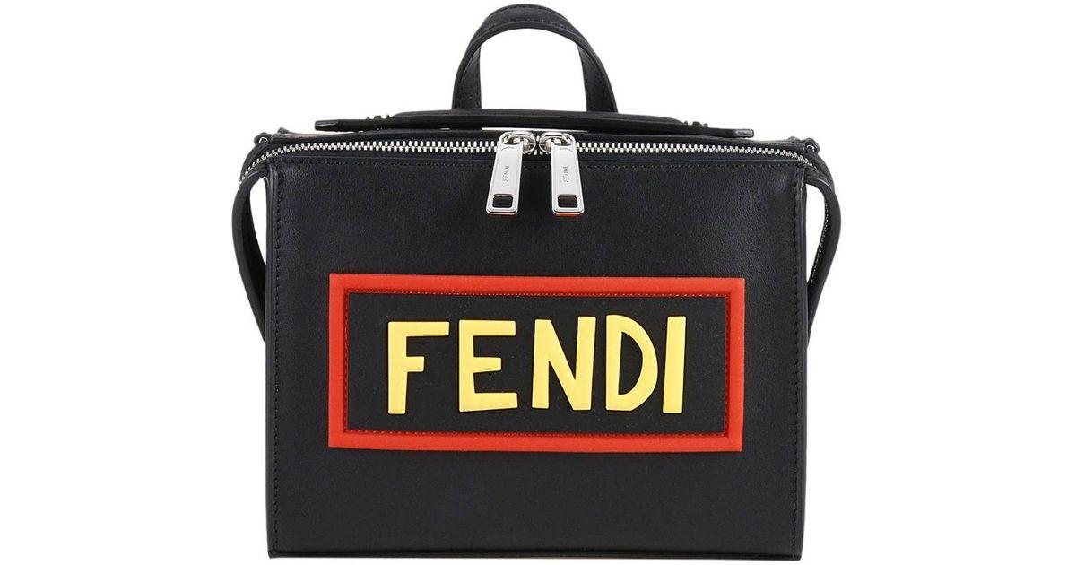 bebdfc622507 Lyst - Fendi Bags Men in Black for Men