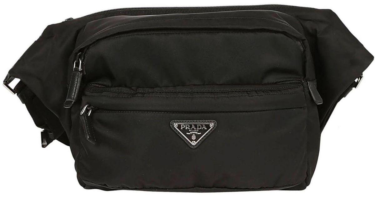 7ff227e9529 Prada Shoulder Bag Men in Black for Men - Lyst