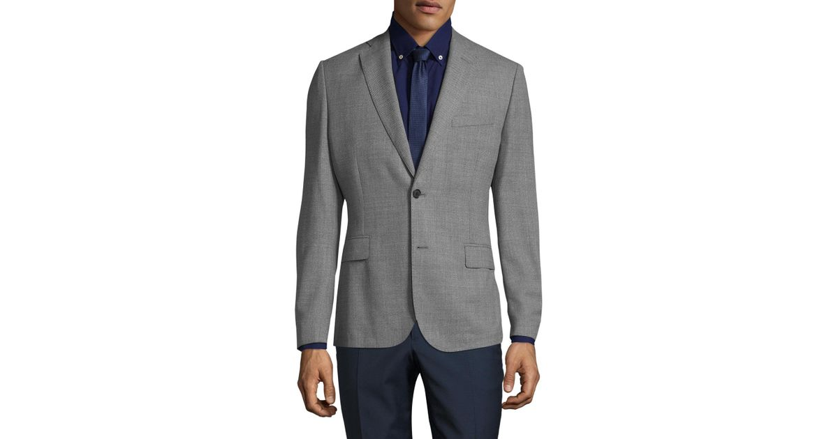 3a18cc7066 Lyst - J.Lindeberg Hopper Soft Structured Stretch Sportcoat in Gray for Men