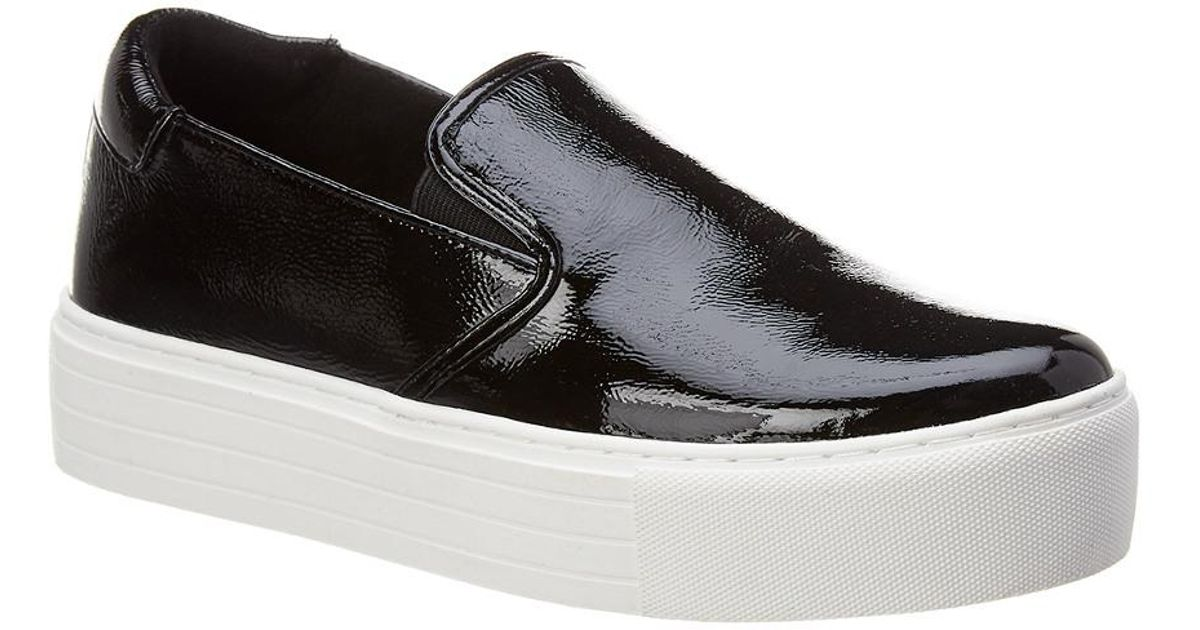 207c74af4e89 Lyst - Kenneth Cole New York Joanie Patent Sneaker in Black