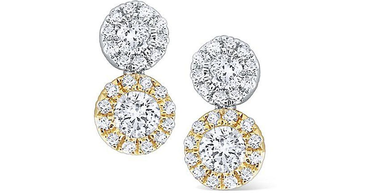 Lyst - KC Designs Two-tone Disc Diamond b1c902330c80
