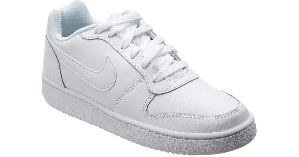 7e3f7c7590c Lyst - Nike Ebernon Low-top Leather Sneaker in White