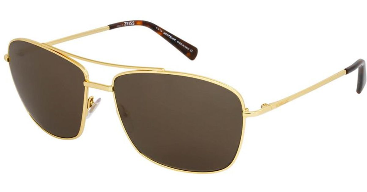 79403f7754 Lyst - Montblanc Mont Blanc Men s Mb548s 63mm Sunglasses for Men