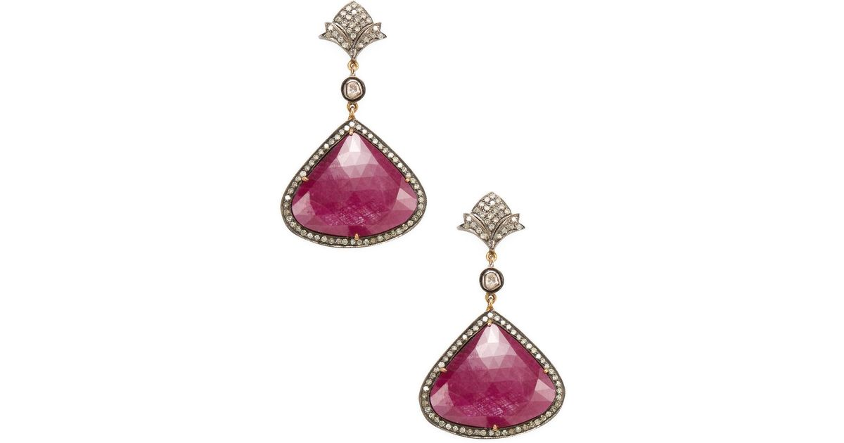 deco jewels jewelry fine earrings hoop diamond south a sea style br art amrapali polki