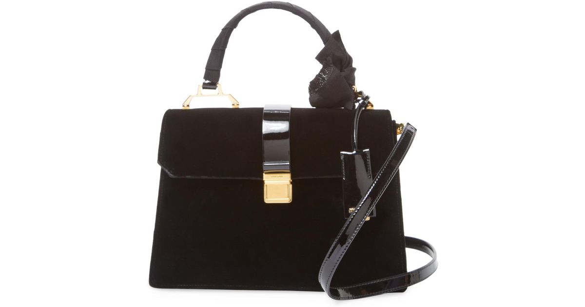 057412fe64cd Miu Miu Solid Shoulder Bag in Black - Lyst
