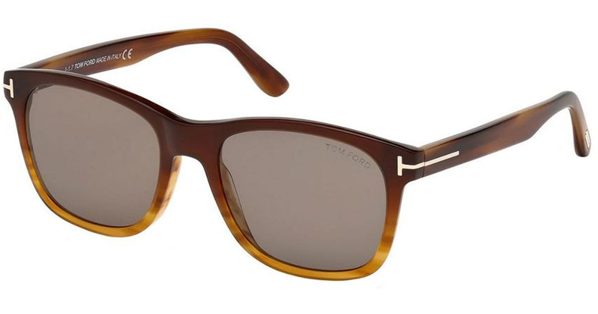 1b246099550 Lyst - Tom Ford Eric 55mm Sunglasses in Brown for Men