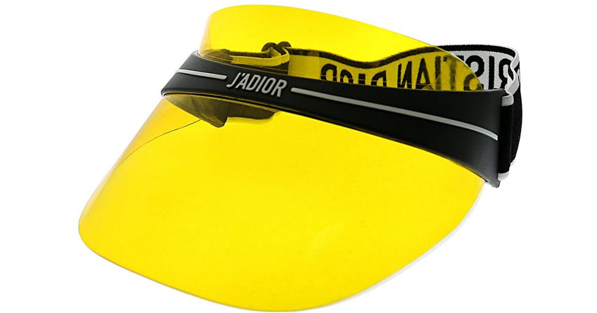 Lyst - Dior Unisex Visor Sunglasses in Yellow 57bc1a6ee70