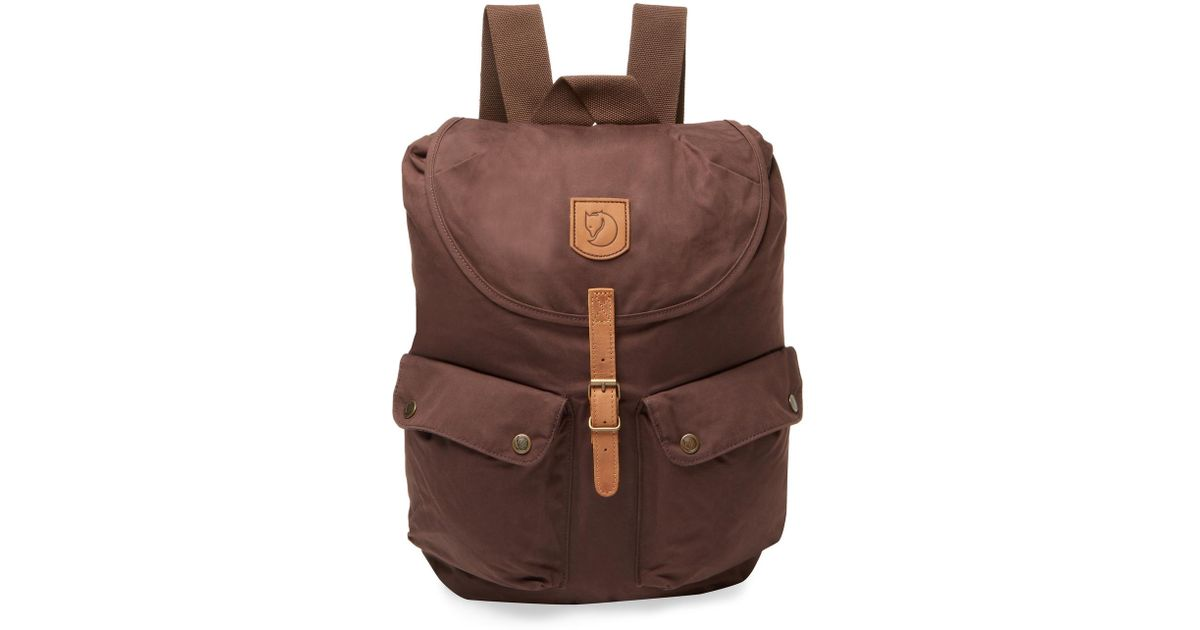 Fjallraven Large Brown Backpack in Lyst Greenland qpPF7YY