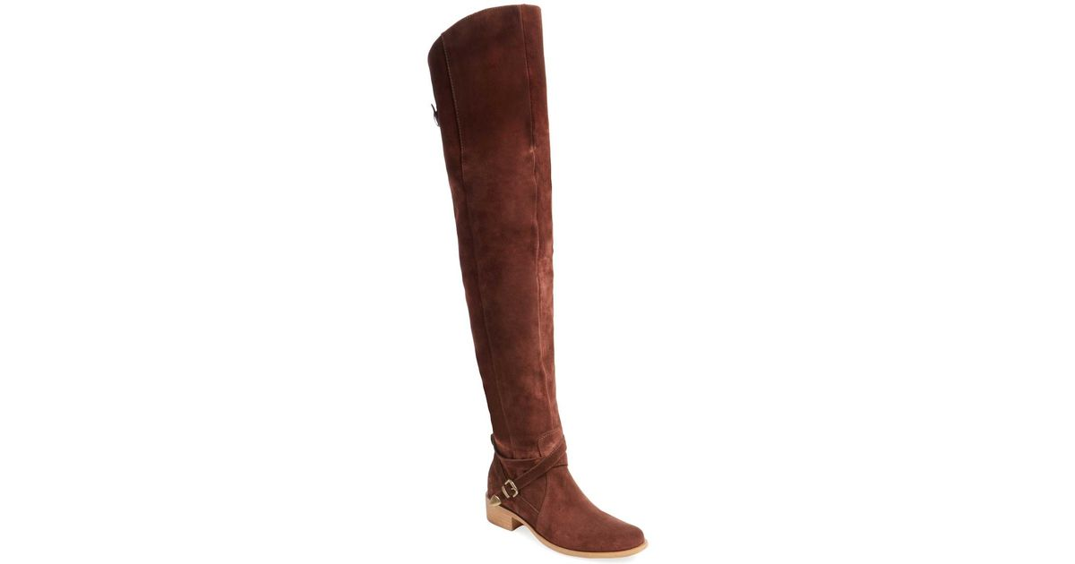 e790aaee604d0f Charles David - Brown Gianna Over The Knee Boot - Lyst