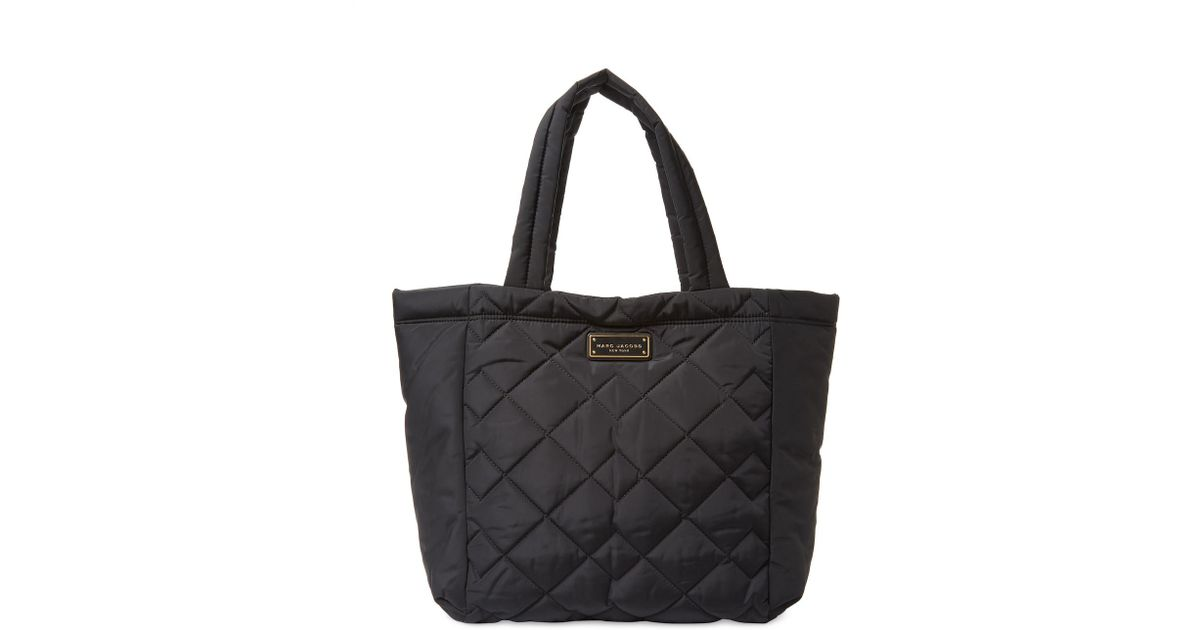 1969353a0c0ea Marc Jacobs Black Quilted Tote - Best Quilt Grafimage.co