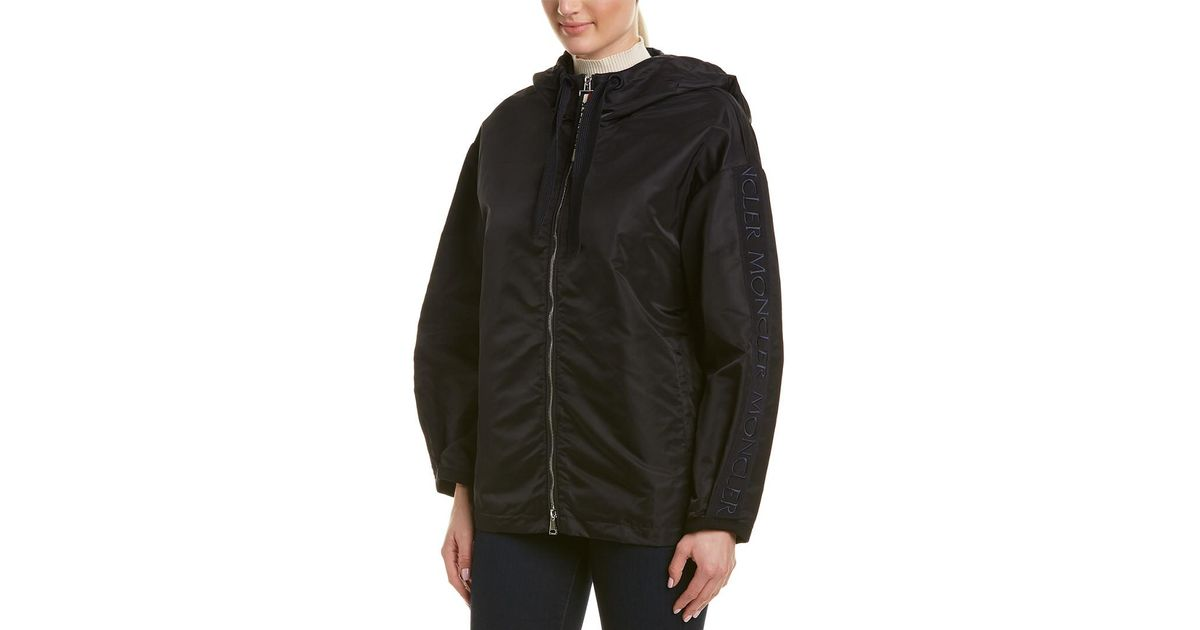 0eaa03f10ef6 Lyst - Moncler Short Rain Jacket in Blue