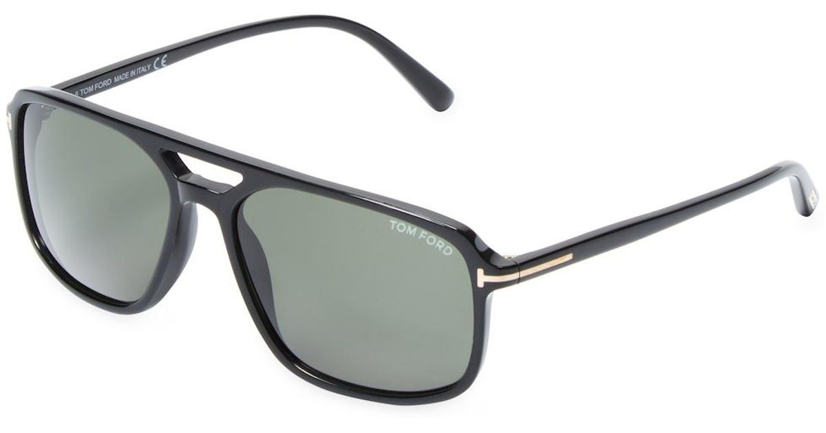 Tom ford Terry Square Aviator Frame | Lyst