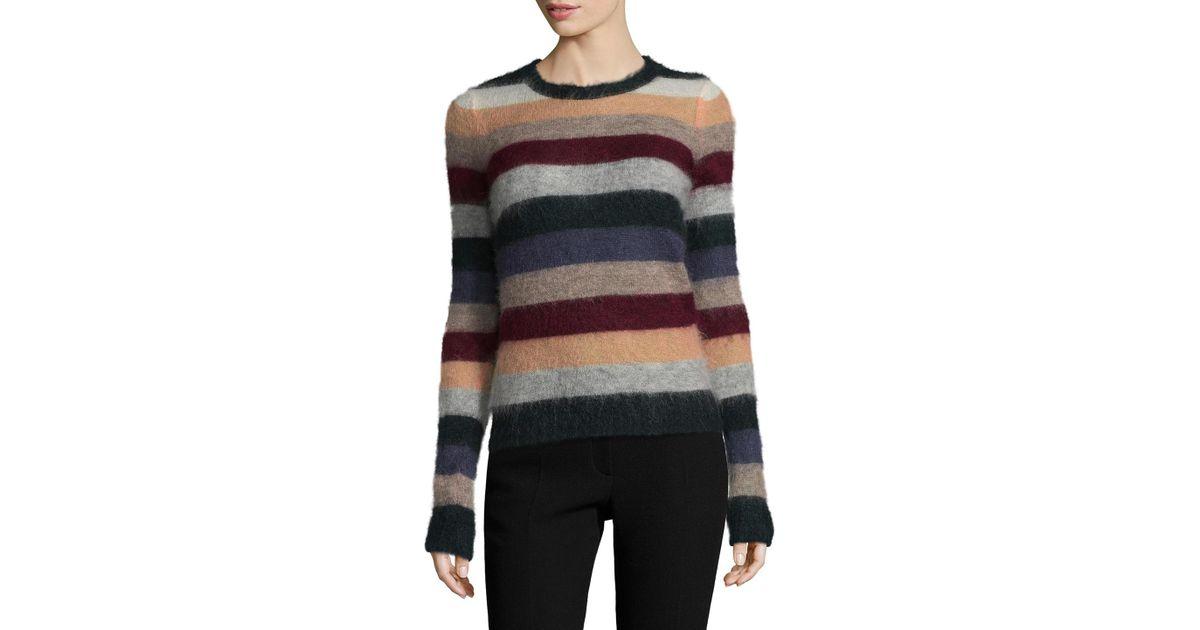 56e5f7e0cbc Lyst - Isabel Marant Cassy Striped Sweater
