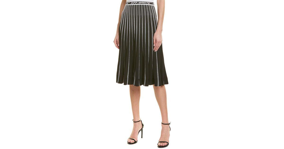 61767beb7d Off-White c/o Virgil Abloh Off-white? A-line Skirt in Black - Lyst