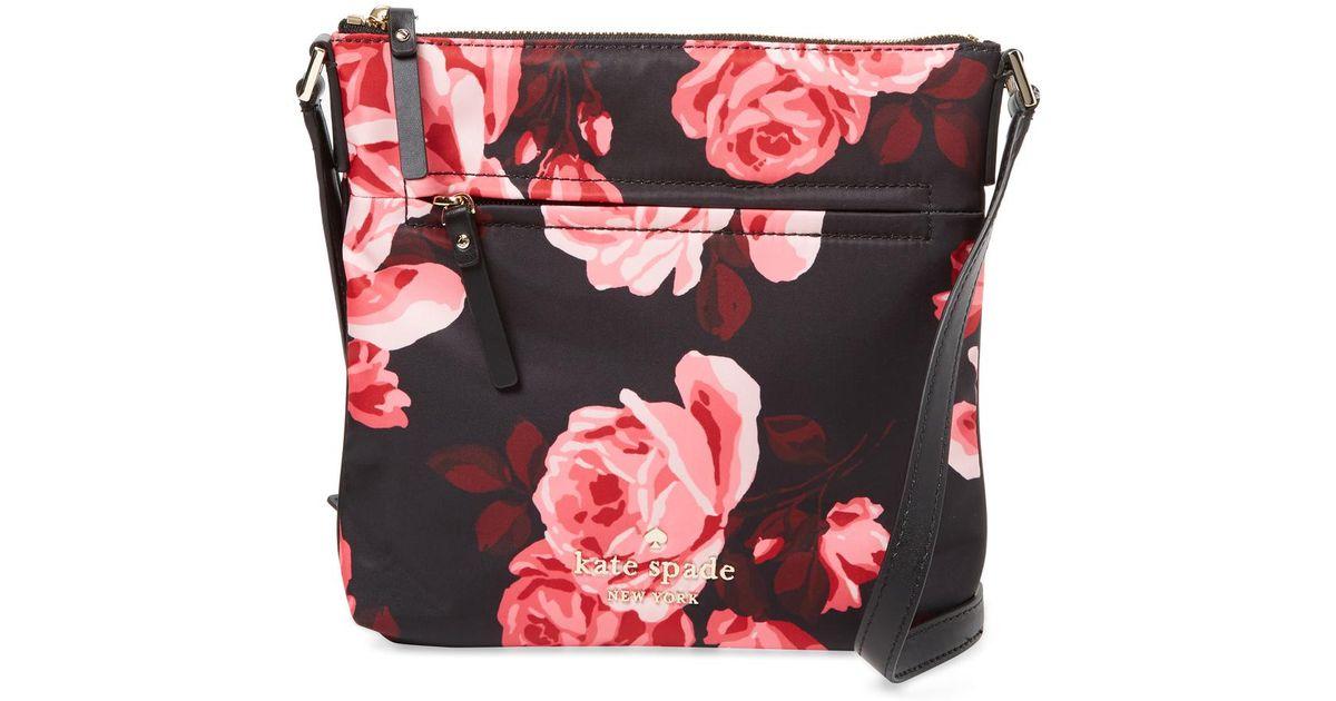 ef47010b95069 Lyst - Kate Spade Watson Lance Hester Floral Crossbody