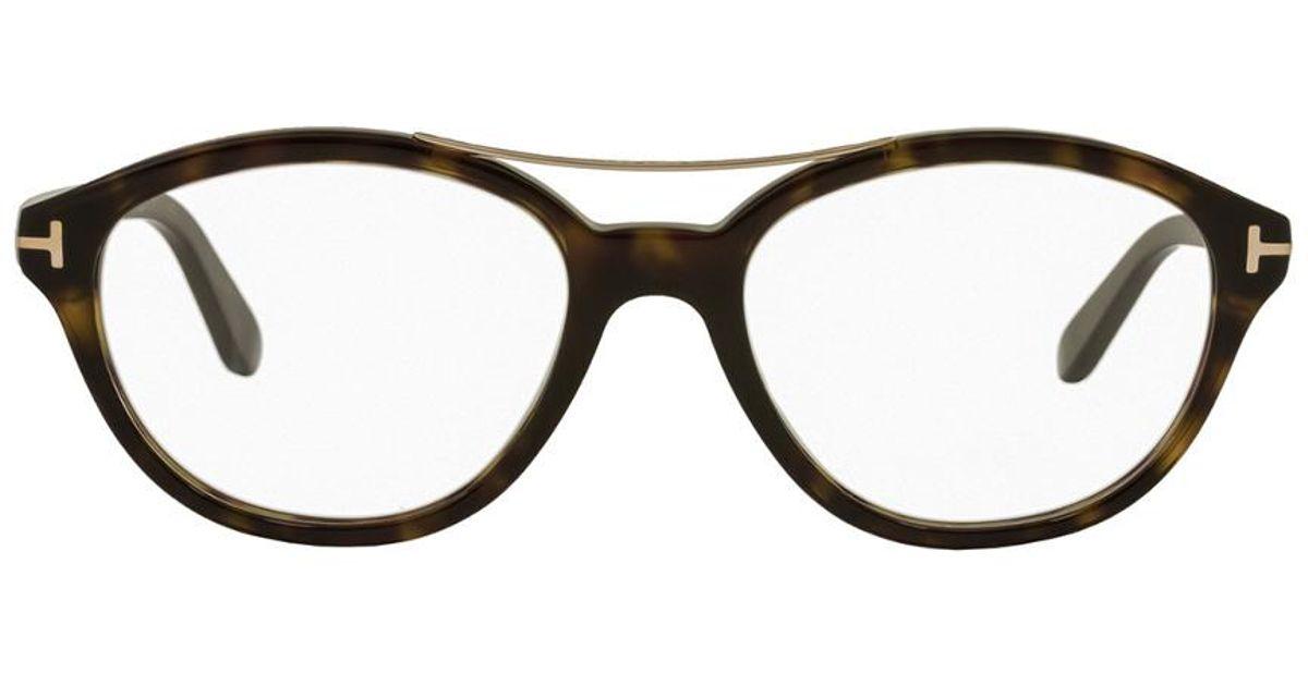 cfc4e0da68 Tom Ford Women s Ft5412 52mm Optical Frames - Lyst