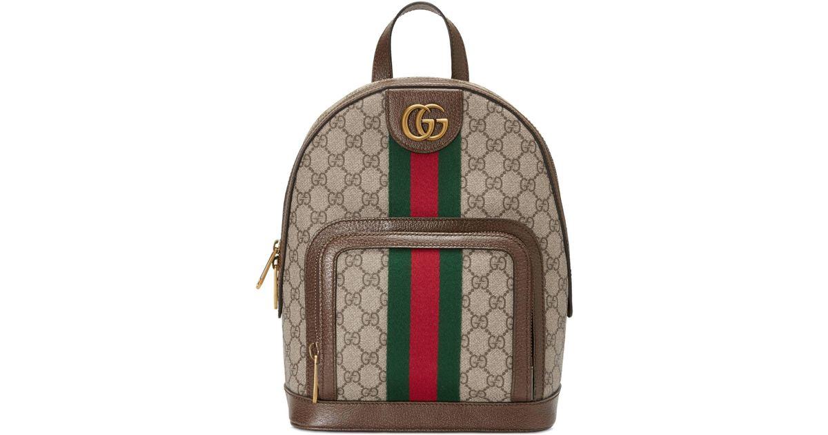 59319d901 Mochila Ophidia Pequeña con GG Gucci - Lyst