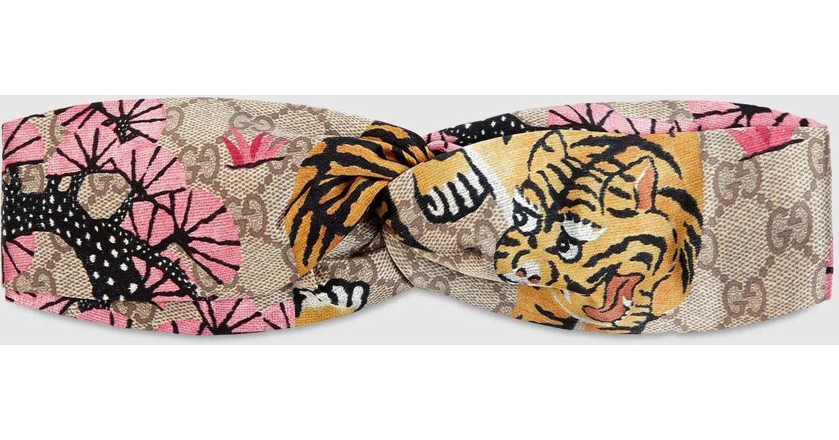 edbea4f85d7 Lyst - Gucci Bengal Headband