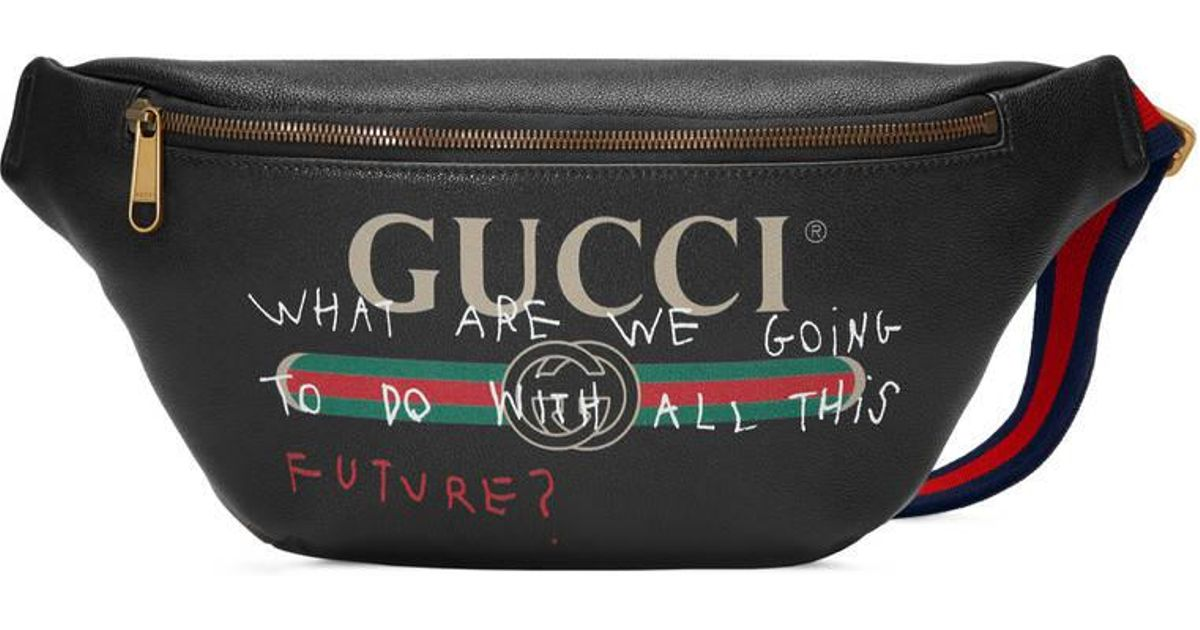 607535232 Gucci Coco Capitán Logo Belt Bag in Black for Men - Lyst