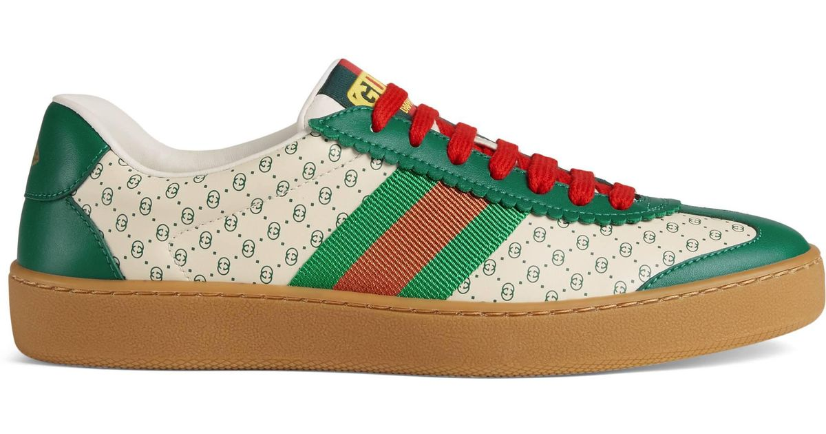 b5571dc95694 Gucci Women s -dapper Dan G74 Sneaker in Green - Lyst
