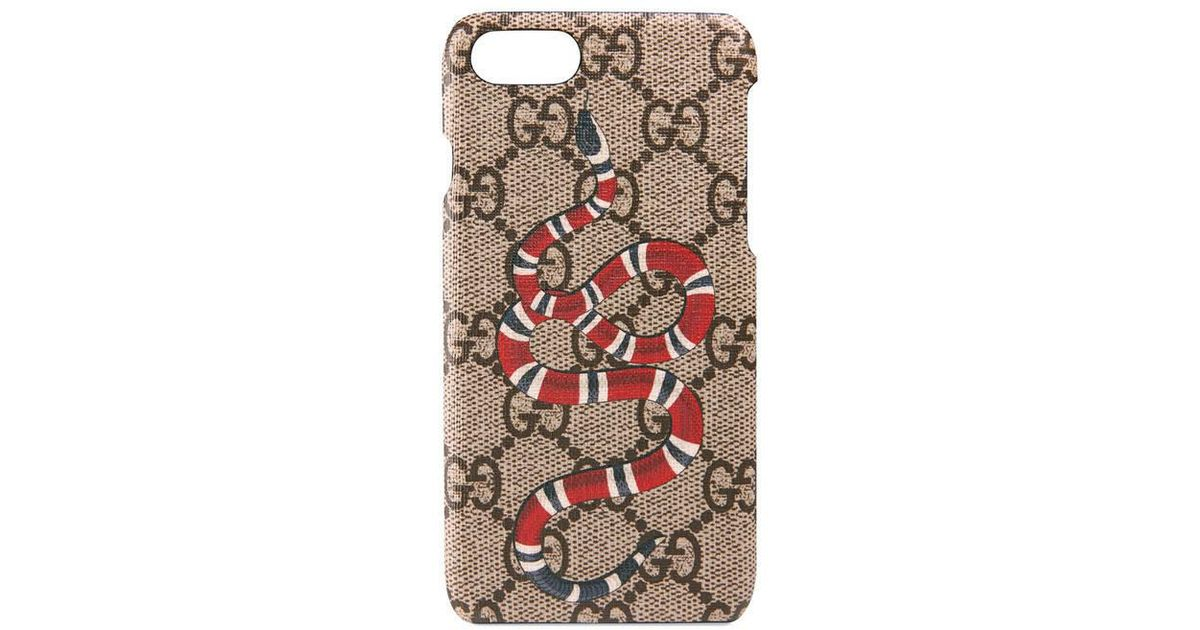 selezione migliore c31d0 cfc7b Gucci Multicolor Snake Print Iphone 7 Case