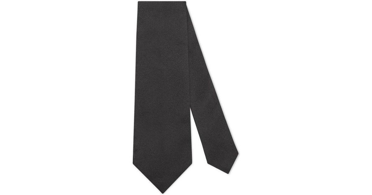 Tie dark brown patterned Fiorio zAg5vC5X