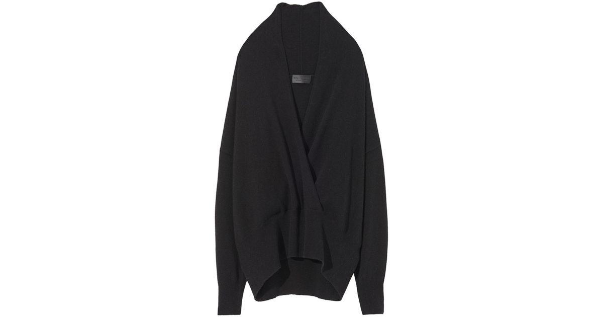 980af66cbf Lyst - Nili Lotan Lakota Sweater In Black in Black