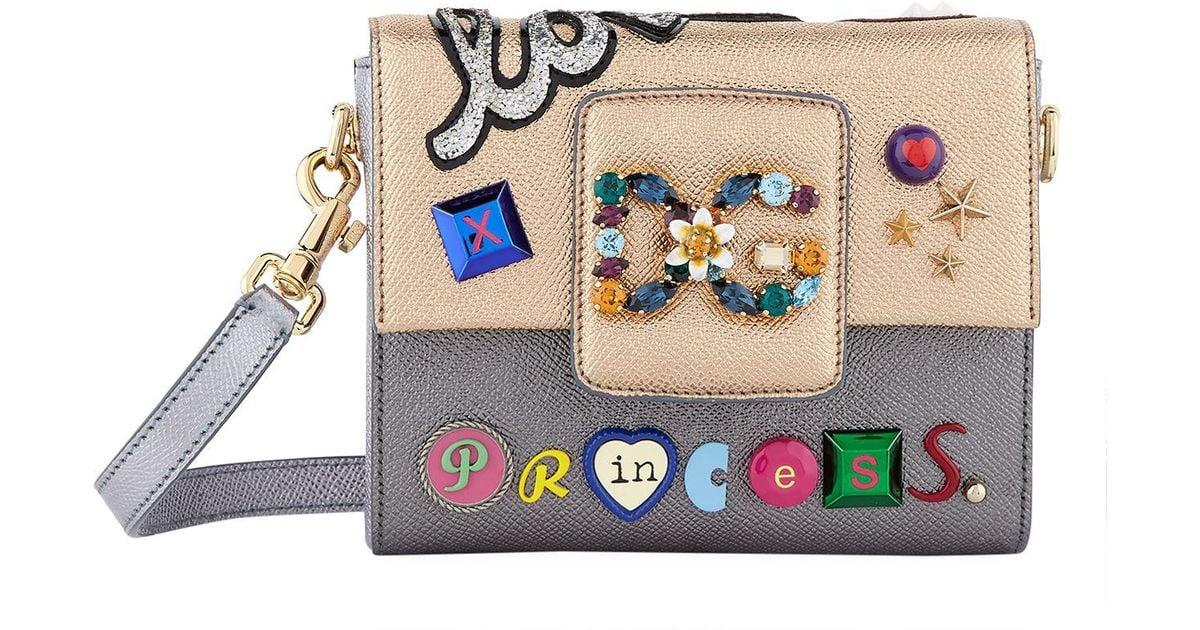 72bf0e137d1b Lyst - Dolce   Gabbana Love Princess Mini Bag