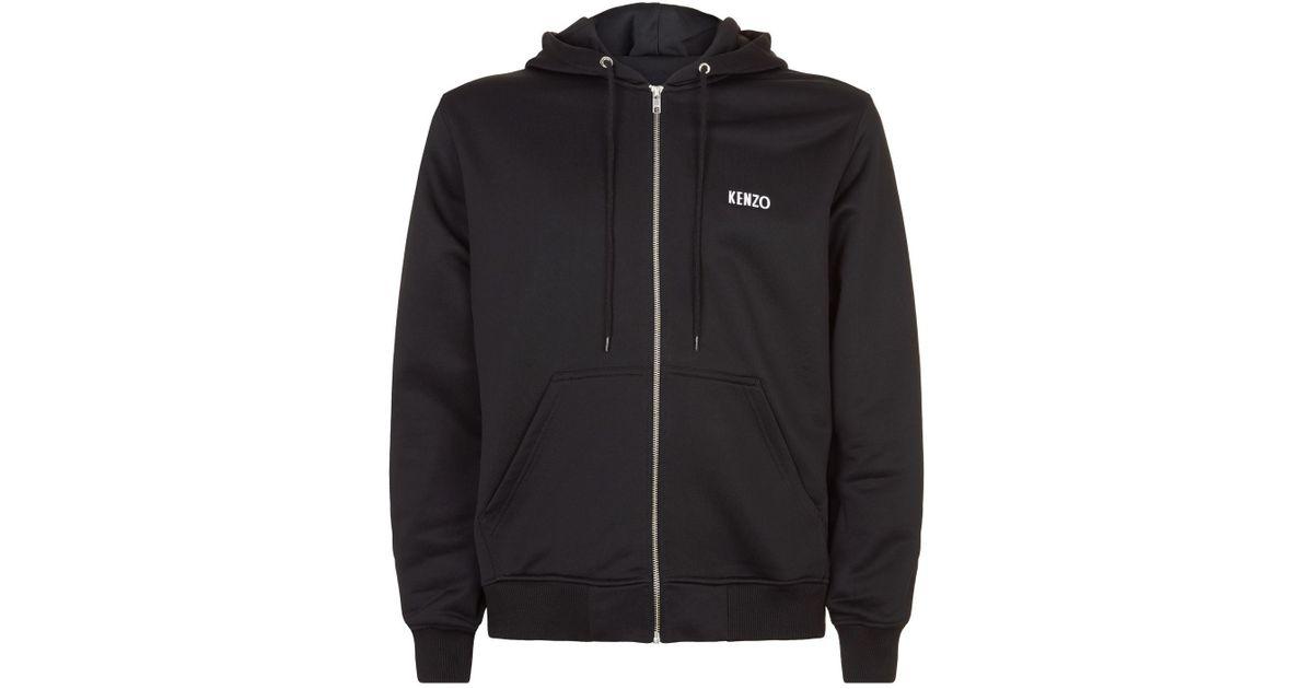 deb80e4ea Lyst - KENZO Embellished Dragon Hoodie in Black for Men