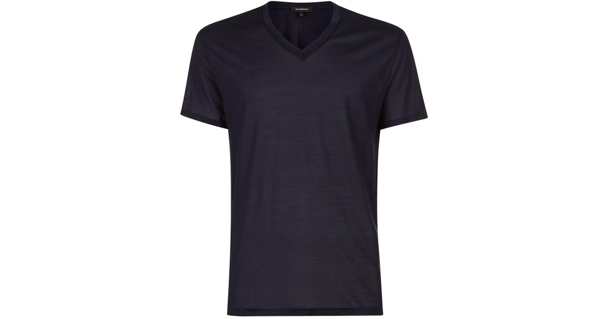 Sale High Quality Free Shipping Low Price Fee Shipping Crew neck T-shirt grey Ermenegildo Zegna Fast Delivery Online Outlet 2018 New Discount Latest Collections IqfWp