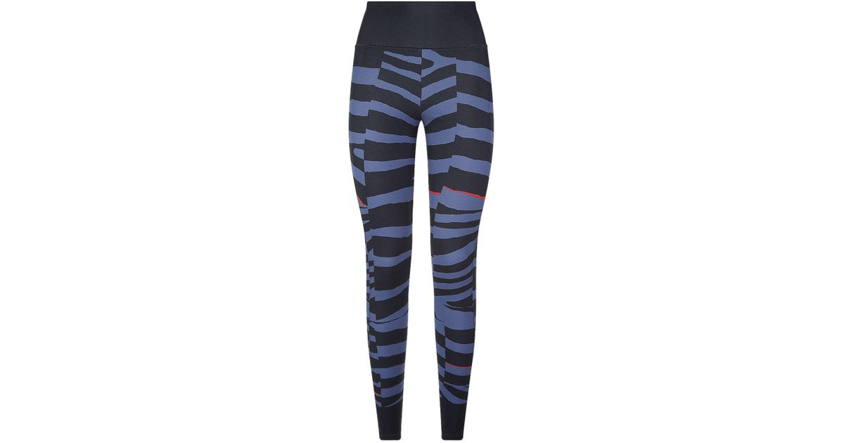 996e12ab0179c adidas By Stella McCartney Miracle Sculpt Tights in Gray - Lyst