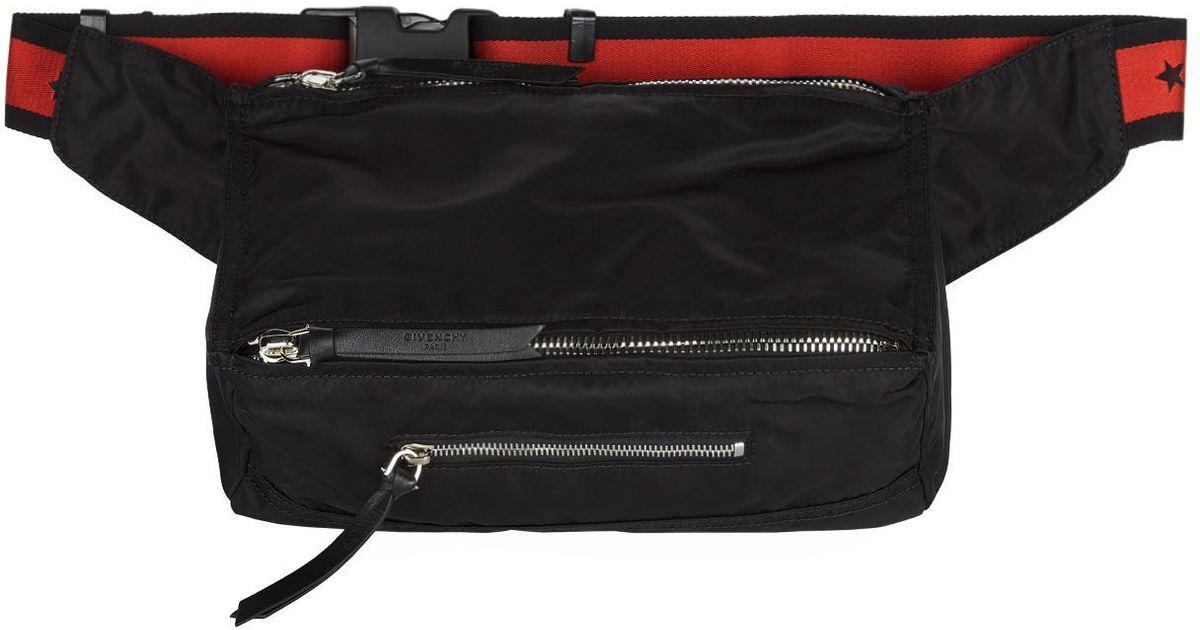 1a8ef98f29bb Givenchy Pandora Belt Bag in Black for Men - Lyst