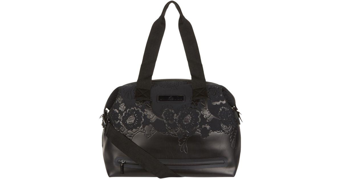a0714a9bc34b Lyst - adidas By Stella McCartney Medium Studio Bag in Black