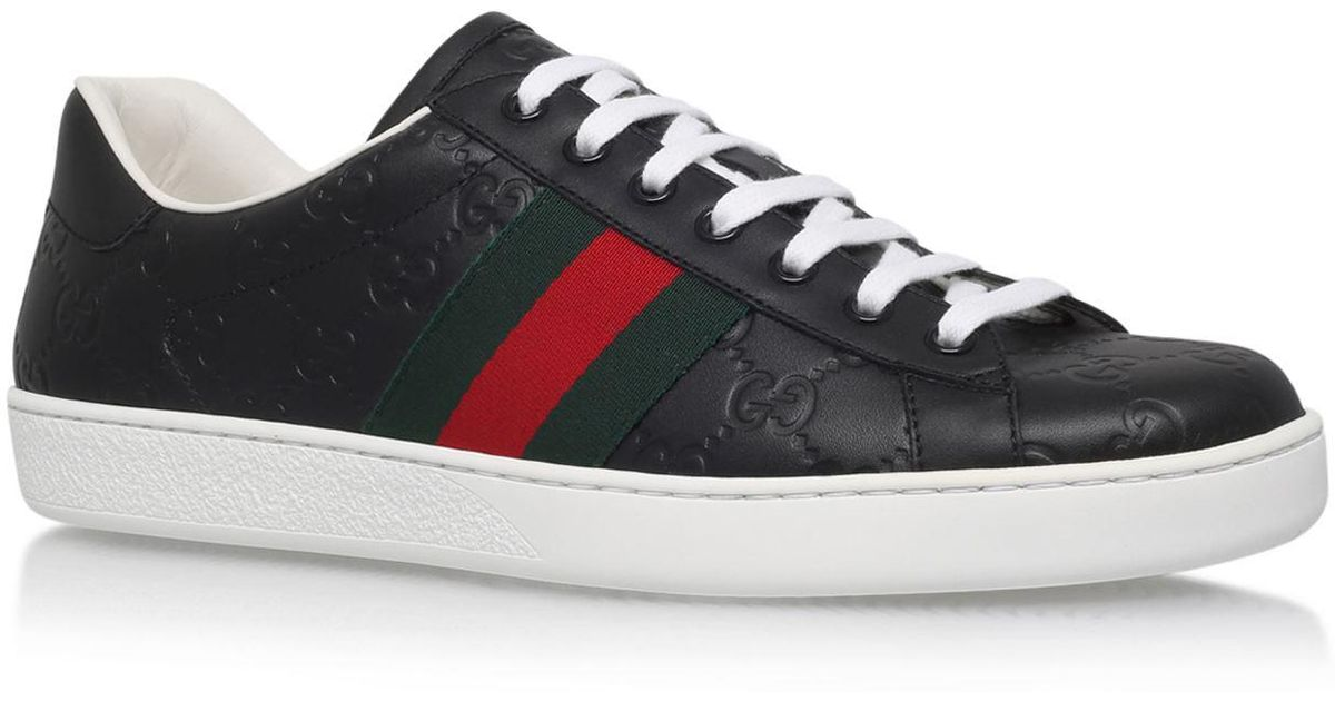 16d7517c113 Gucci New Ace Gg Sneakers for Men - Lyst
