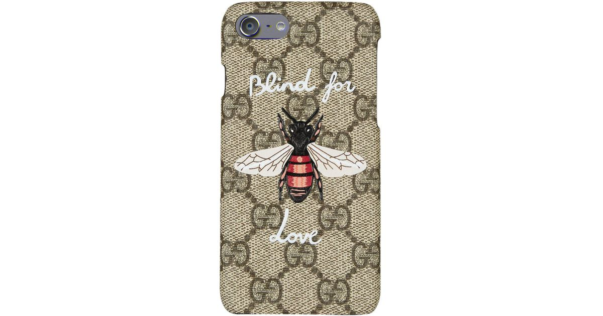 sports shoes ffdd3 fdfcc Gucci - Multicolor Bee Iphone 7 Phone Case - Lyst