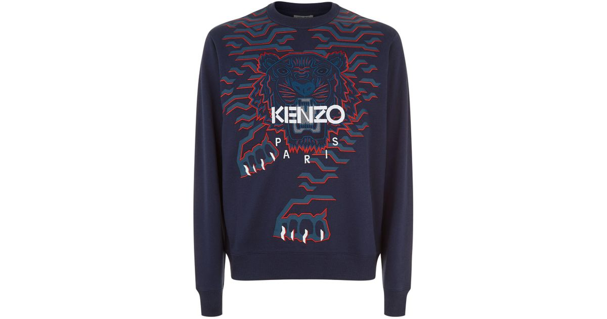77f00925987 Lyst Lyst Kenzo Kenzo Sweatshirt vqww15Sd