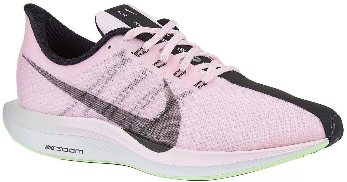 eecab72d95f13 Lyst - Nike Air Zoom Pegasus 35 Turbo Trainers in Pink