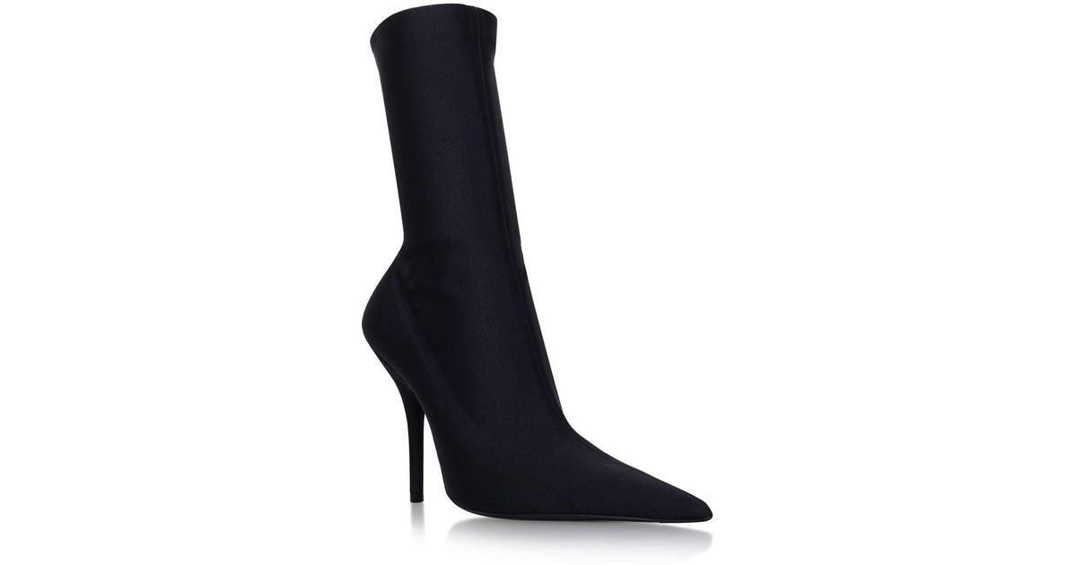 6300ef2f7fd7 Lyst - Balenciaga Knife Ankle Boots 110 in Black