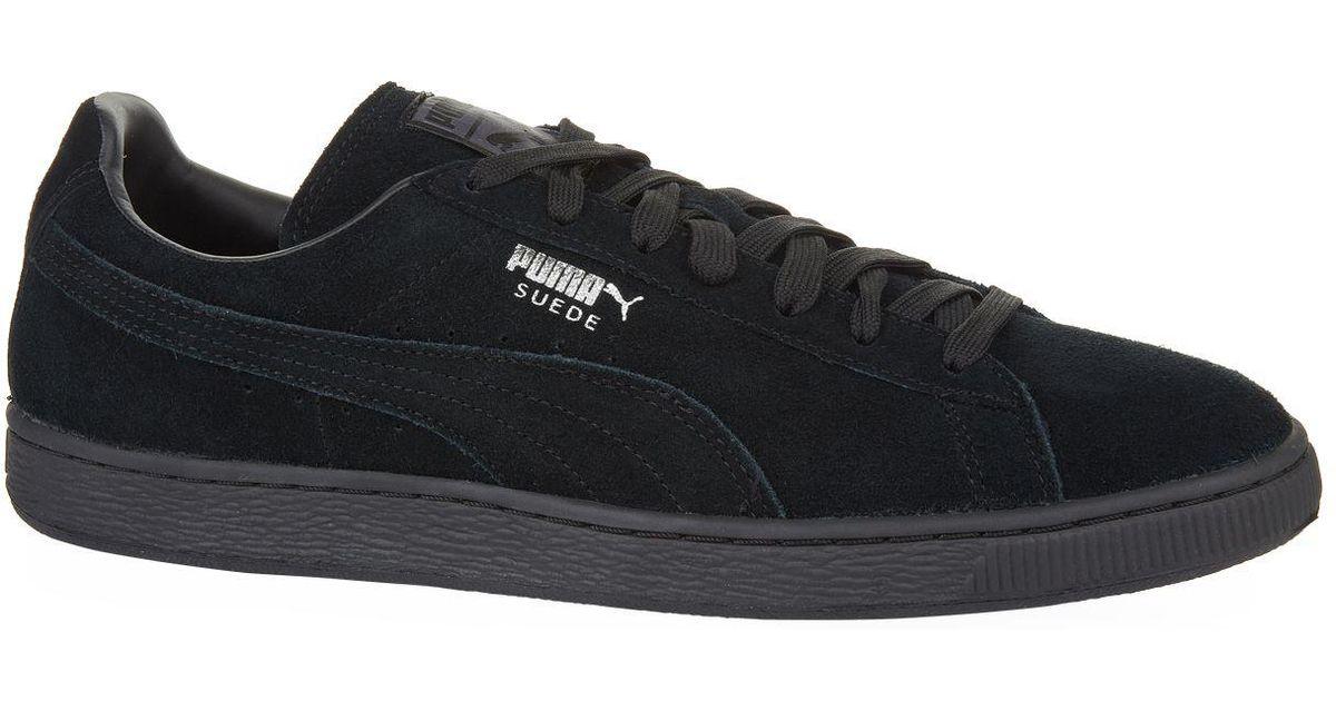 1e6e8192de7b6f Lyst - Puma Suede Classic Plus Sneakers in Black