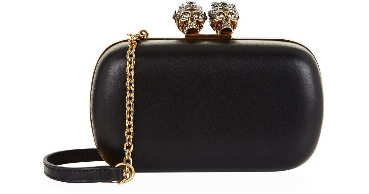 Discount Extremely Alexander McQueen Skull clutch Limited Edition Online TQE7GhTbnm