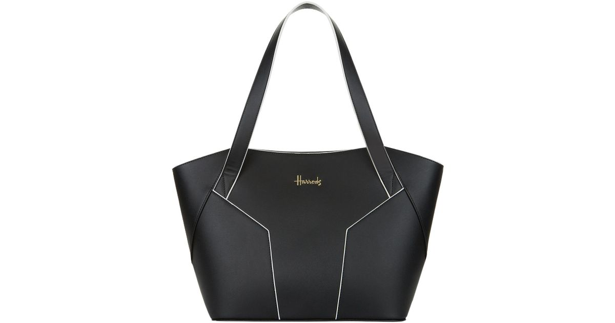 14c4743f75 Lyst - Harrods Constance Shoulder Bag in Black