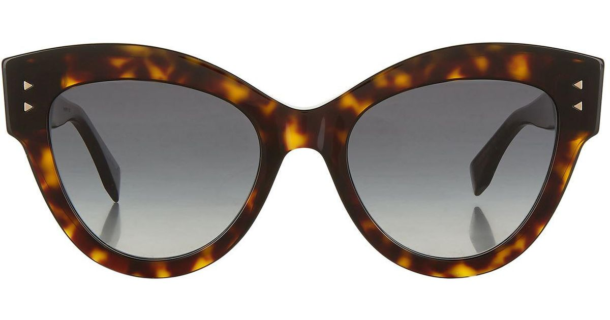 404d315f06f2 Lyst - Fendi Peekaboo Sunglasses in Brown
