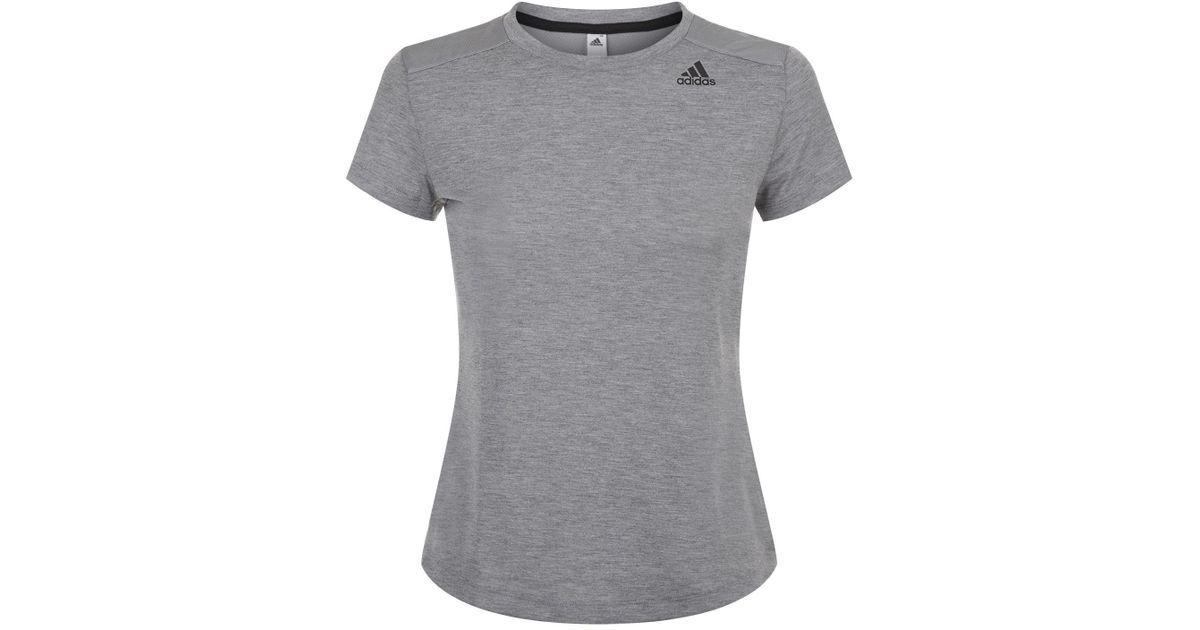 Camiseta Camiseta en de Prime entrenamiento Lyst Adidas Prime en gris ff710d5 - grind.website