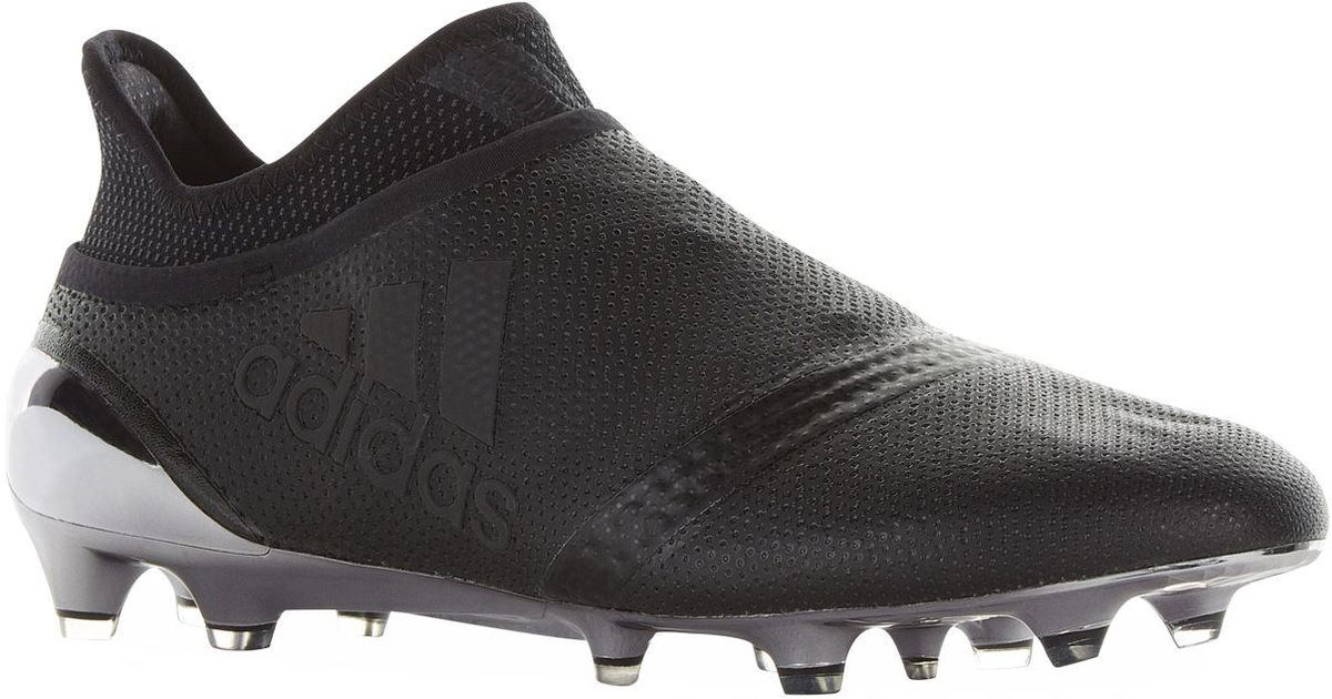 buy popular ae13b d787f Adidas - Black X 17+ Purespeed Firm Ground Football Boots for Men - Lyst