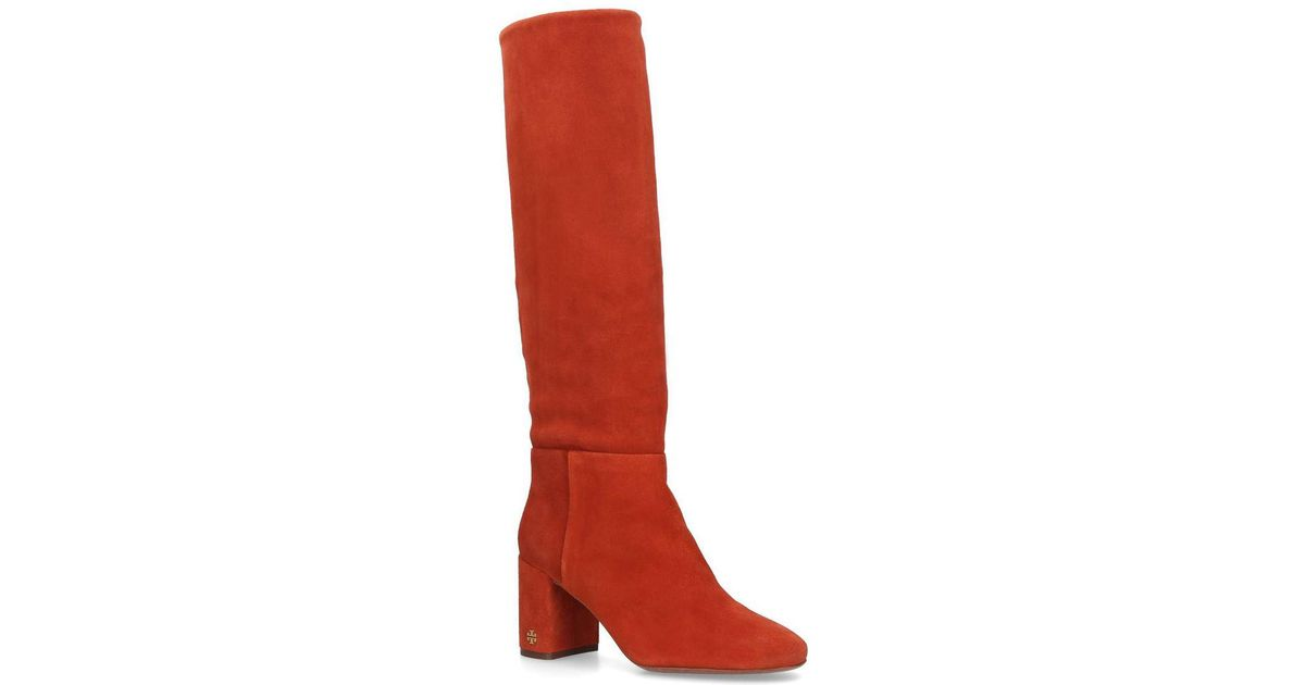 a4036ea95b15 Lyst - Tory Burch Boots For Women in Red - Save 18%