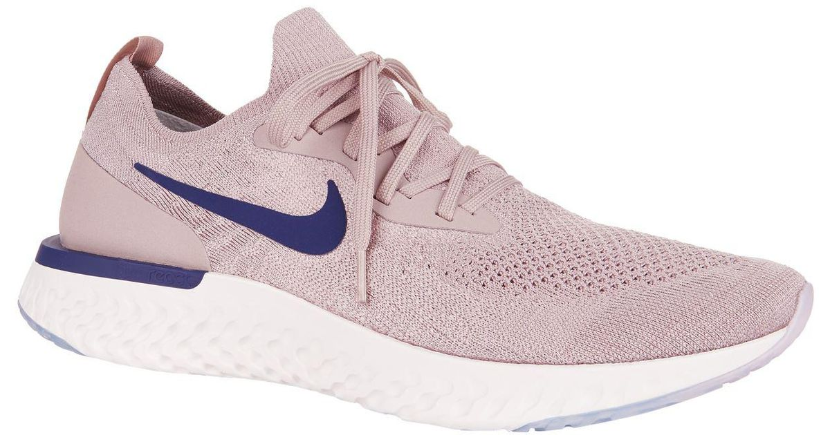 7fcb9231bb14 Nike Epic React Flyknit Trainers in Purple for Men - Lyst