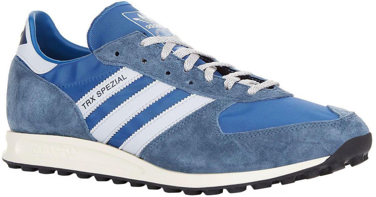newest 1273c 1089b Lyst - adidas Originals Trx Spezial Sneakers in Blue for Men