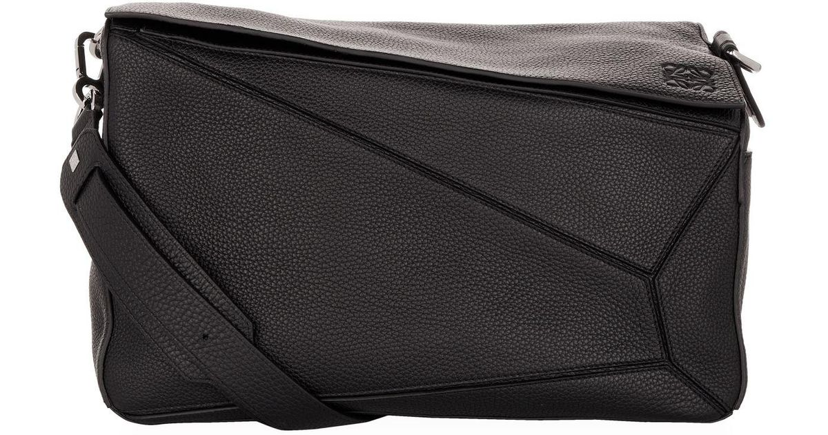 Lyst - Loewe Extra Large Puzzle Bag in Black for Men b88111c04c38a
