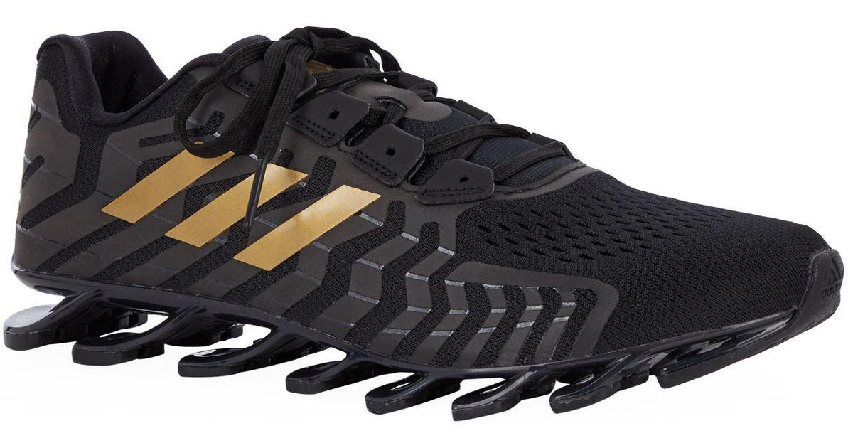 093348fc9439 Lyst - adidas Springblade Pro Running Trainers in Black for Men