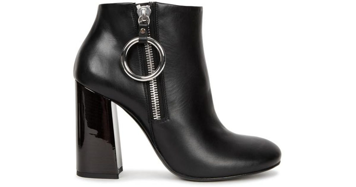 Mcqueen Lyst Black Pembury Leather In Mcq Alexander Ankle Boots pqPTfA